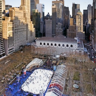 Winter Village - Aerial - Photo by Colin Miller (1)